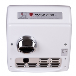 World Dryer - Model XRA - Recessed A.D.A. Compliant Automatic Hand Dryer
