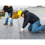 Versico Roofing Systems - EPDM - VersiGard® with QAT Roofing Membrane with Quick-Applied Tape