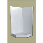 Florestone Products Co. - Model 2PC-38-NEO Fiberglass Shower - Remodeling Unit