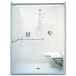 Florestone Products Co. - Model 35-62H Barrier-Free Shower