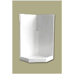 Florestone Products Co. - Model 38 NEO Fiberglass Shower Stall