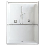 Florestone Products Co. - Model 39-62H Barrier-Free Shower