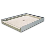 Florestone Products Co. - Model 400 Barrier-Free Terrazzo Shower Receptor