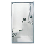 Florestone Products Co. - Model 40-40H Barrier-Free Shower