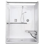 Florestone Products Co. - Model 40-62H Barrier-Free Shower