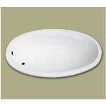Florestone Products Co. - Model 6040 Catrina Fiberglass Custom Bath
