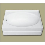 Florestone Products Co. - Model 6086 Full Apron Fiberglass Custom Bath