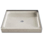 Florestone Products Co. - Terrazzo Model 200 Shower Receptors
