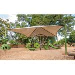 Landscape Structures, Inc. - Super CoolToppers® Pyramid (30'x30')