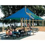 Landscape Structures, Inc. - CoolToppers® Full Sail
