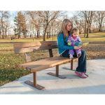 Landscape Structures, Inc. - Wood-Grain Bench