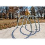Landscape Structures, Inc. - Arches Bike Rack - Single
