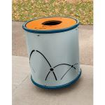 Landscape Structures, Inc. - Arches Litter Receptacle