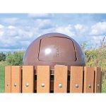 Landscape Structures, Inc. - Litter Receptacle Cover