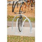 Landscape Structures, Inc. - Arches Bike Rack - Triple