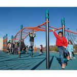 Landscape Structures, Inc. - FitCore™ Extreme Angled Overhead Ladder (5-12)