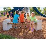 Landscape Structures, Inc. - Facet® Bench
