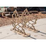 Landscape Structures, Inc. - Leaf Bike Rack