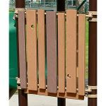Landscape Structures, Inc. - Recycled Wood-Grain Lumber Panel