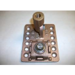 Robbins Lightning, Inc. - Cast Adhesive Point Base with Cast Swivel - Copper