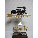 Robbins Lightning, Inc. - 524 - Wabash Train Weather Vane