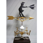 Robbins Lightning, Inc. - 528 - Girl With Umbrella Weather Vane