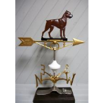Robbins Lightning, Inc. - 532 - Boxer Dog Weather Vane