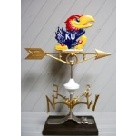 Robbins Lightning, Inc. - 568 - Kansas Jayhawk Weather Vane