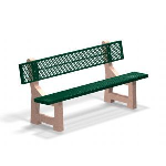 Petersen Precast Site Furnishings - PB-M Series Bench