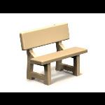 Petersen Precast Site Furnishings - Park Bench Series