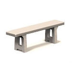 Petersen Precast Site Furnishings - TB Series Bench