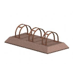 Petersen Precast Site Furnishings - Precast Bike Rack