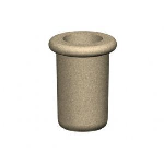 Petersen Precast Site Furnishings - Fabres Series Round Concrete Planters