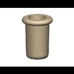 Petersen Precast Site Furnishings - Fabres Series Round Concrete Planters