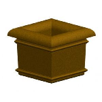 Petersen Precast Site Furnishings - Aurora Series Square Planter
