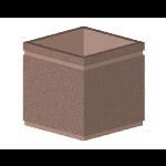 Petersen Precast Site Furnishings - P Series Square Planter