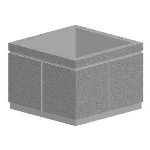 Petersen Precast Site Furnishings - SP Square Planters