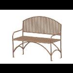 Petersen Precast Site Furnishings - English Series - EB48 Metal Bench