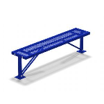 Petersen Precast Site Furnishings - MB Series Metal Bench