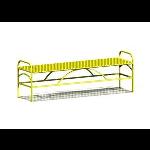 Petersen Precast Site Furnishings - Summerfield Series - SFB72 Metal Bench