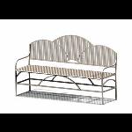 Petersen Precast Site Furnishings - Summerfield Series - SFBB72 Metal Bench