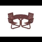 Petersen Precast Site Furnishings - LTRND Round Table