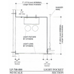 Pittcon Industries - LP-700-800 Light Pockets