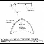Pittcon Industries - SICM SERIES RADIUSED TRIHEDRAL INSIDE CORNER