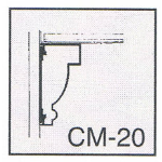 Pittcon Industries - CM-20 Crown Moldings