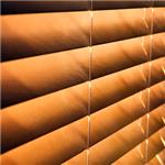 "Mariak Industries - 2"" & 2.5"" Basswood Horizontal Blinds"