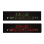 Primex - Smart-Comm™ Digital Message Board and Clock