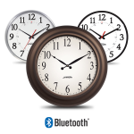 Primex - Smart-Sync Bluetooth® Wireless Technology Analog Clocks