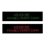 Primex - Digital Message Board and Clock
