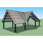 Icon Shelter Systems Inc - Interval Shelters IN30x60M-P12-70-90-40